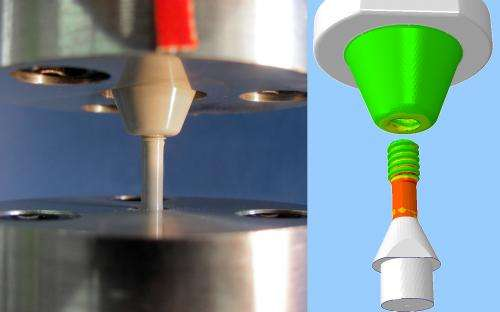 Ceramic screws are corrosion and heat resistant