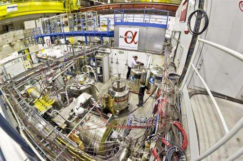 CERN experiment takes us one step closer to discovering where all the antimatter went