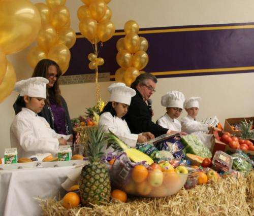 Chefs move to schools can increase school meal participation and vegetable intake among students