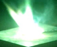 Chemists develop new formulation for the generation of green flames