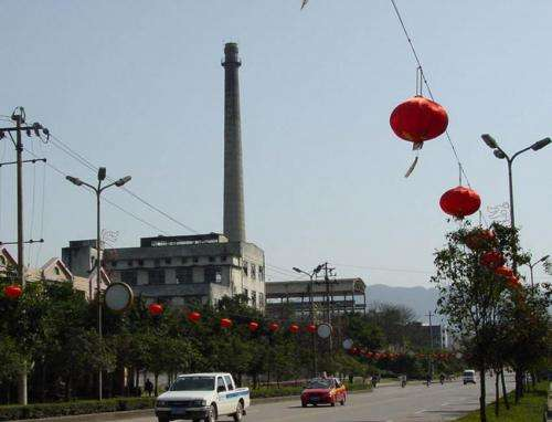Coal plant closure in China led to improvements in children's health