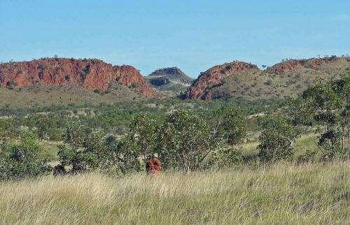 Colliding plates form Kimberley 'Alps'