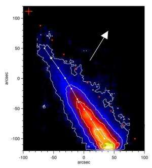 Comet ison's dramatic final hours