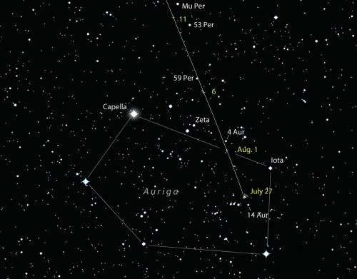 Comet Jacques makes a 'questionable' appearance