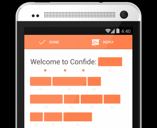 Confide off-the-record app comes to Android