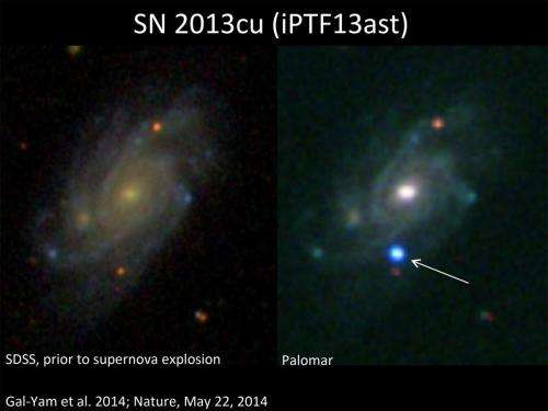 Confirmed: Stellar behemoth self-destructs in a Type IIb supernova