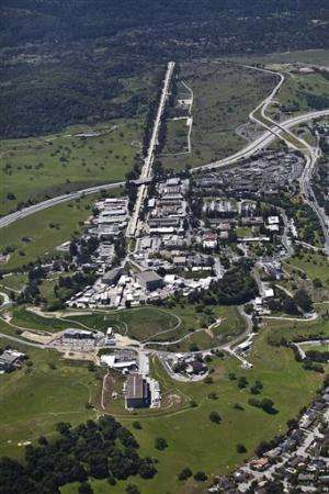 Crews fight fire at Stanford linear accelerator