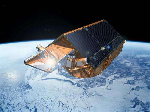 CryoSat extends its reach on the Arctic