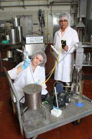 Dairy scientist targets heat-resistant microbes