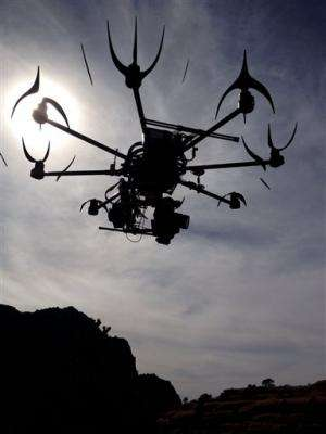 Drones for moviemaking face likely US approval