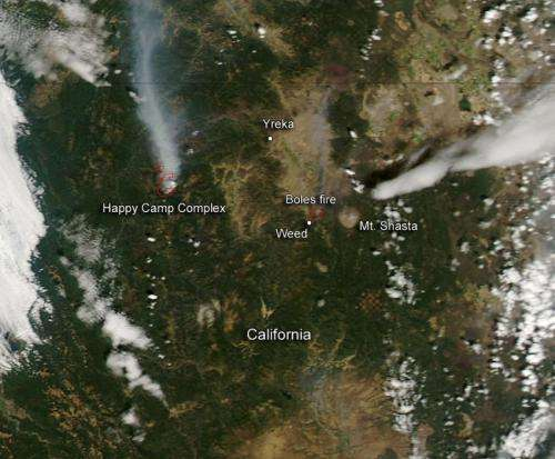 Dry conditions and lightning strikes make for a long California fire season