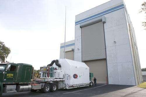 DSCOVR Satellite Arrives in Florida for Launch