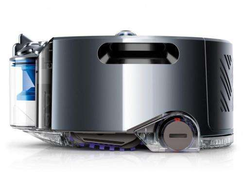 Dyson vacuum's vision system knows where it's yet to clean