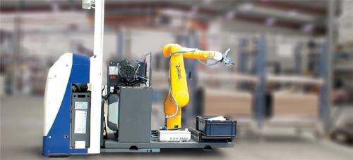 Easy to use robots are future colleagues in small businesses