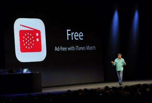 Eddy Cue, Apple's Senior Vice President of Internet Software and Services, introduces iTunes Radio at Apple's Worldwide Develope