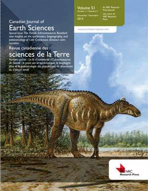 Edmontosaurus regalis and the Danek Bonebed featured in special issue of CJES