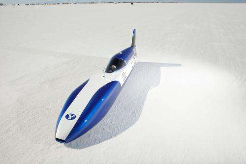 Electric car breaks 200 mph barrier to set new land speed record
