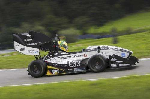 Electric car revs to world record in Switzerland