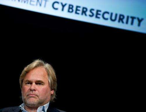 "Eugene Kaspersky, CEO of Kaspersky Lab, takes part in a conversation entitled ""How Cyber-Weapons Impact Global IT Security&"