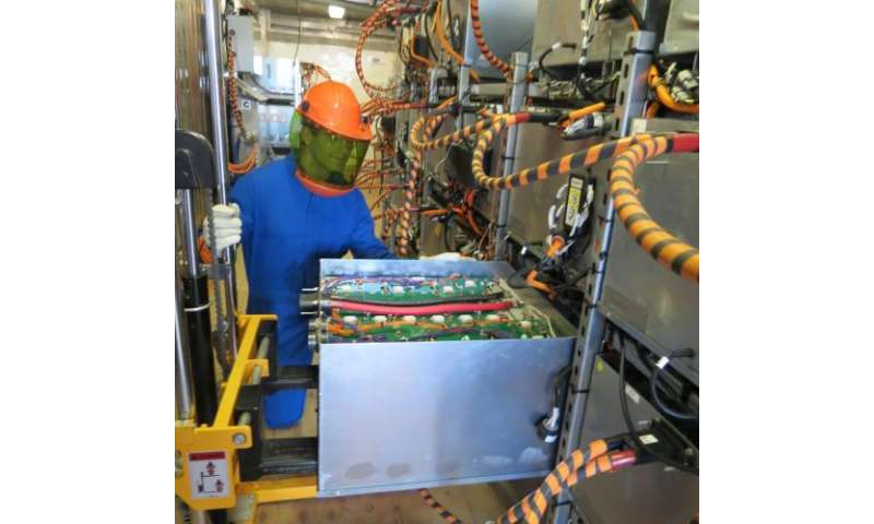 Evaluating powerful batteries for modular grid energy storage