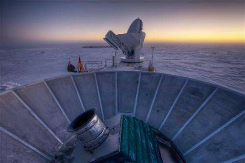 Evidence spotted for universe's early growth spurt