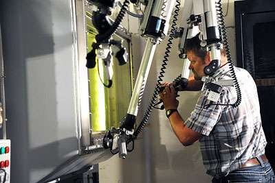 Experiment enters next stage at new Idaho hot cell