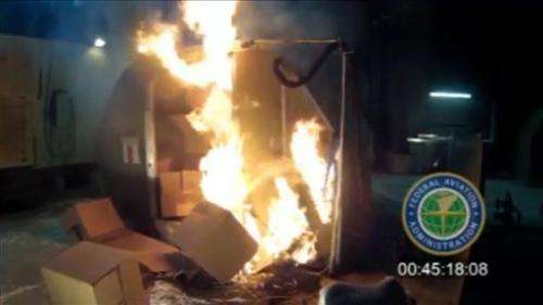 Fiery risk? Air shipments of batteries questioned
