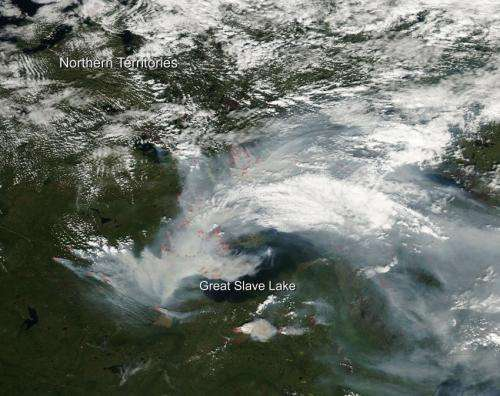 Fires not slowing around Yellowknife