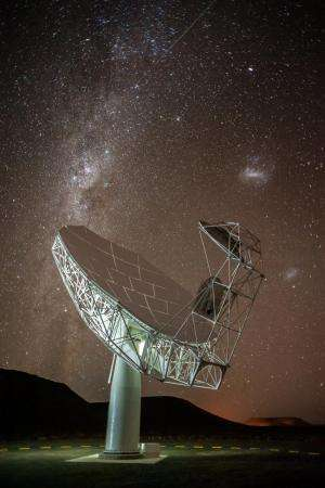 First antenna launched on precursor to world's largest telescope