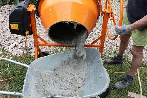 Fly Ash Cement : Fly ash builds green cement mixture