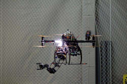 Flying robots will go where humans can't