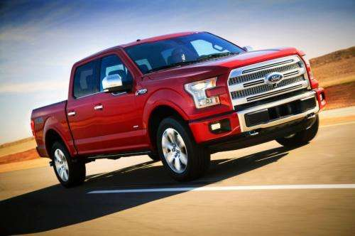 Ford F-150 takes 'tough' to new level via aluminum