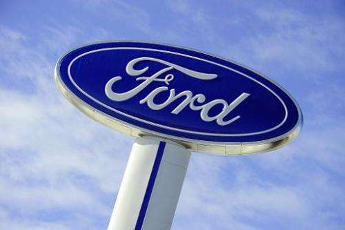 Ford Motor Co. said Wednesday it was teaming up with researchers at two US universities to work on obstacles, technical and othe