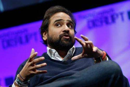 Founder of Jawbone, Hosain Rahman speaks at a conference on May 5, 2014 in New York City