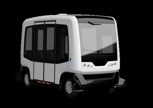 From video camera to driverless shuttle vehicle
