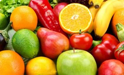 Fruit and veggies pave the road to happiness
