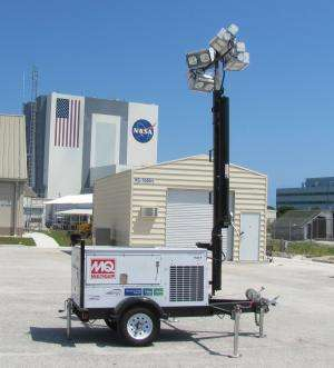 Fuel cell-powered mobile lights tested, proven, ready for commercial use