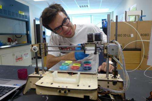 Full color 3-D printing takes top prize in Collegiate Inventors Competition