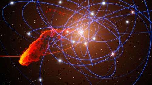 Gas cloud's fate could reveal information on growth of supermassive black holes