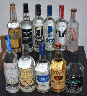 Texans are turning to a different kind of spirit -- vodka -- and saltier is better
