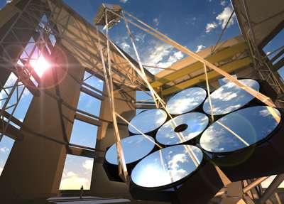 Giant Magellan Telescope looking toward construction