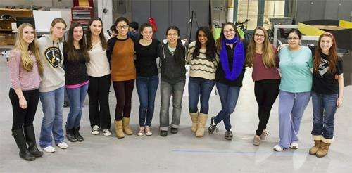 "Girls of Steel Robotics – ""We Can Do It."""