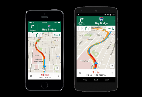 Google Maps update: good lanes and last trains