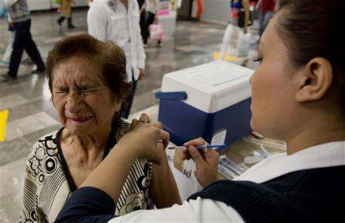 H1N1 flu deaths hit 123 in Mexico, officials say
