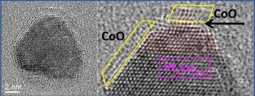 Evolution of a bimetallic nanocatalyst