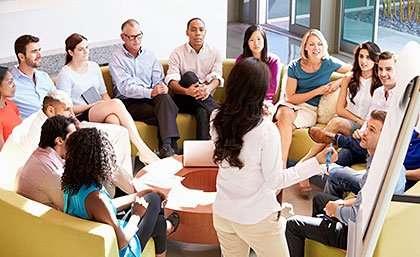 Workplace leaders improve employee wellbeing