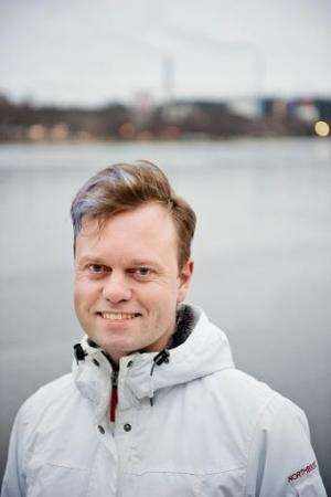 Henrik Johansson, Environmental Coordinator of Vaexjoe Municipality, pictured January 15, 2014