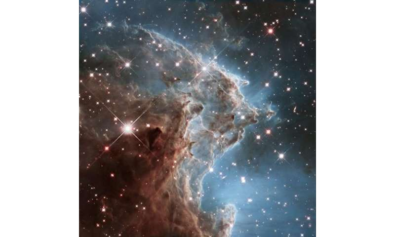 Hubble revisits the Monkey Head Nebula for 24th birthday snap