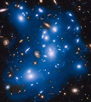 Hubble Sees 'Ghost Light' From Dead Galaxies