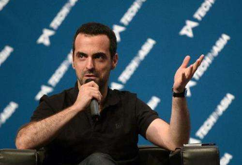 Hugo Barra, Xiaomi's global vice-president, speaks at the Startup Asia technology conference in Singapore, May 8, 2014